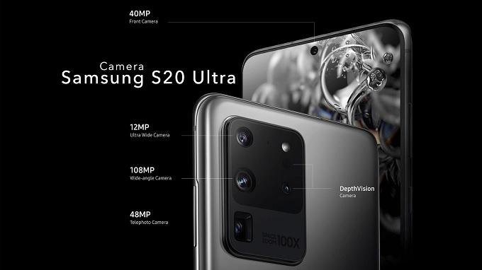 Thông số camera Galaxy S20 Ultra đỉnh nhất làng smartphone