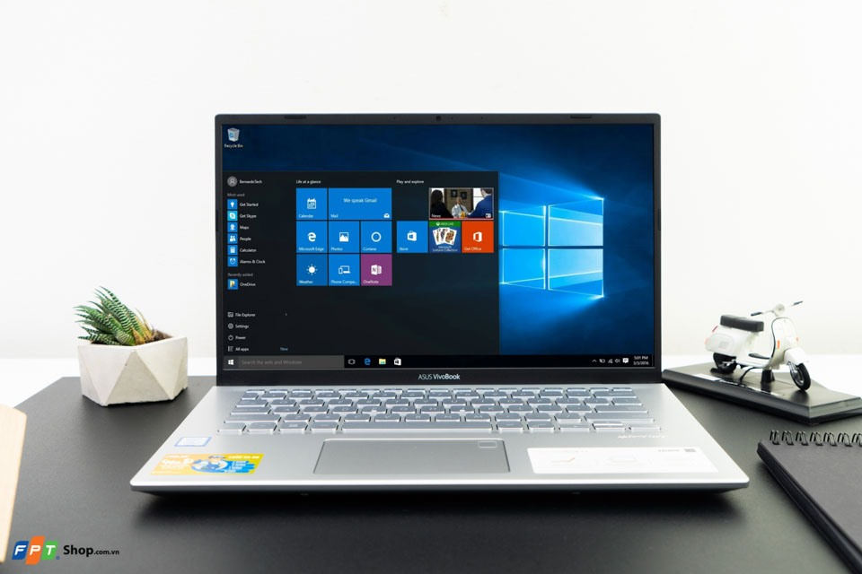 VivoBook 14 A412FA: Giá ngon lại nhiều tính năng hấp dẫn