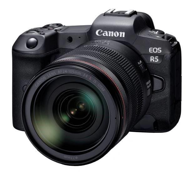 EOS R - Model đầu tiên thuộc dòng máy ảnh không gương lật full-frame thế hệ mới của hệ thống EOS R đang được phát triển