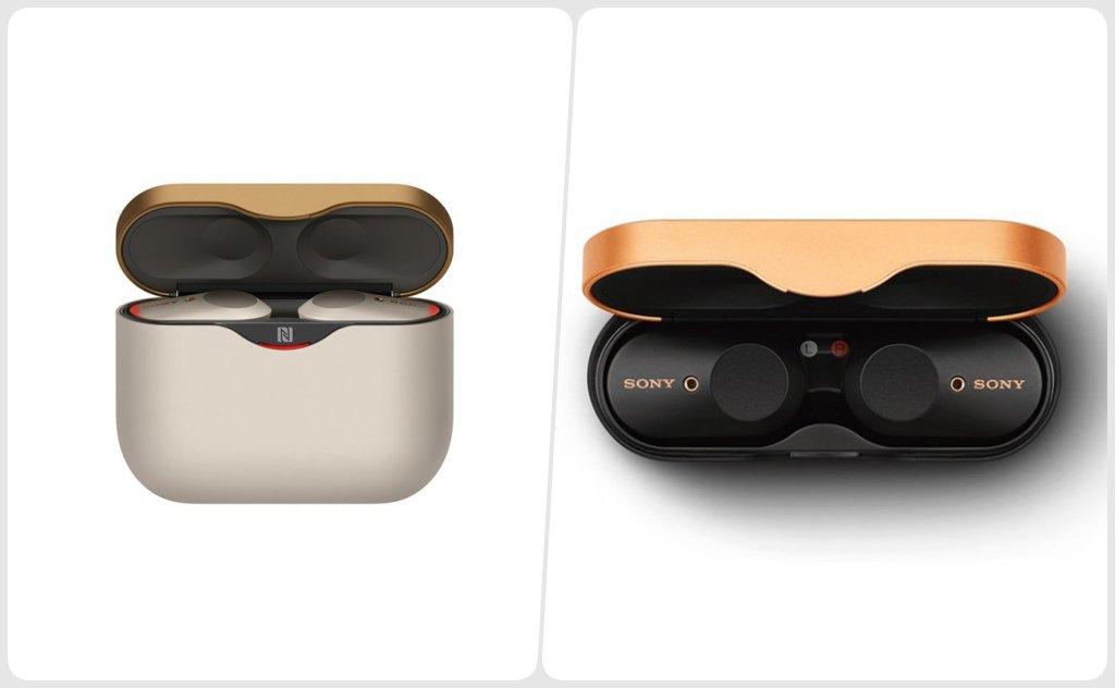 Tai nghe True Wireless Sony WF-1000XM3 thiết kế sang trọng