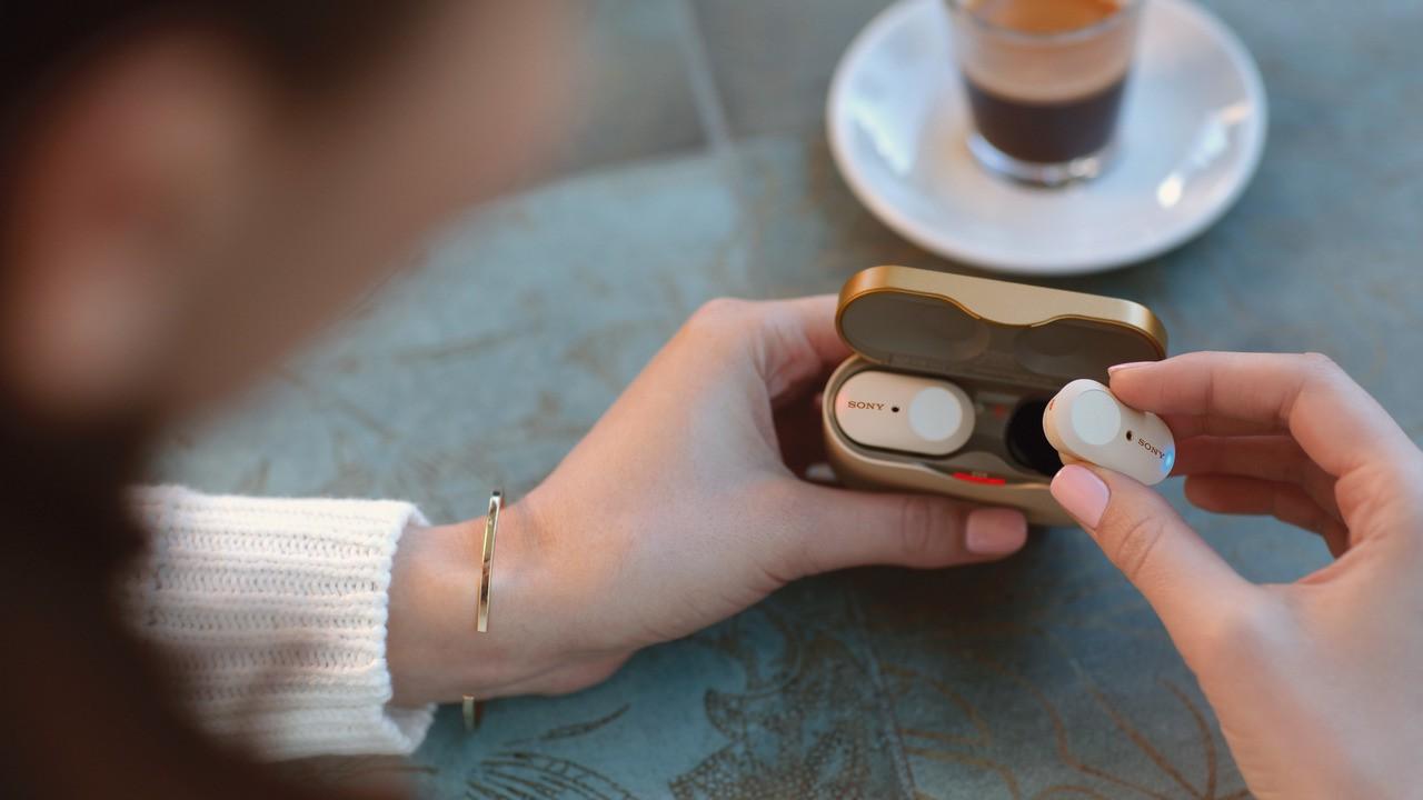Tai nghe True Wireless Sony WF-1000XM3 tính năng cao