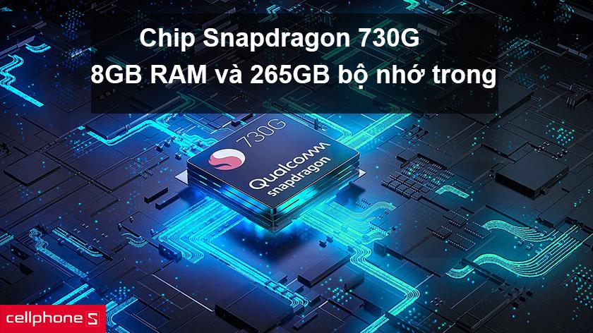 Xiaomi Mi Note 10 Pro trang bị chip Snapdragon 730G