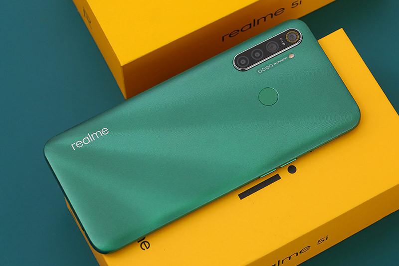 Đánh giá nhanh Realme 5i: Có gì hơn Realme 5 Pro?