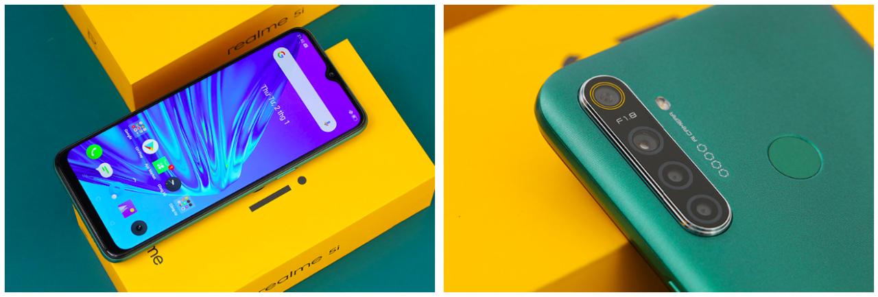 Đánh giá smartphone Realme 5i với màn hình IPS LCD 6.52 inches, chipset Qualcomm SDM665 Snapdragon 665 (11 nm), pin 5000 mAh vừa ra mắt.