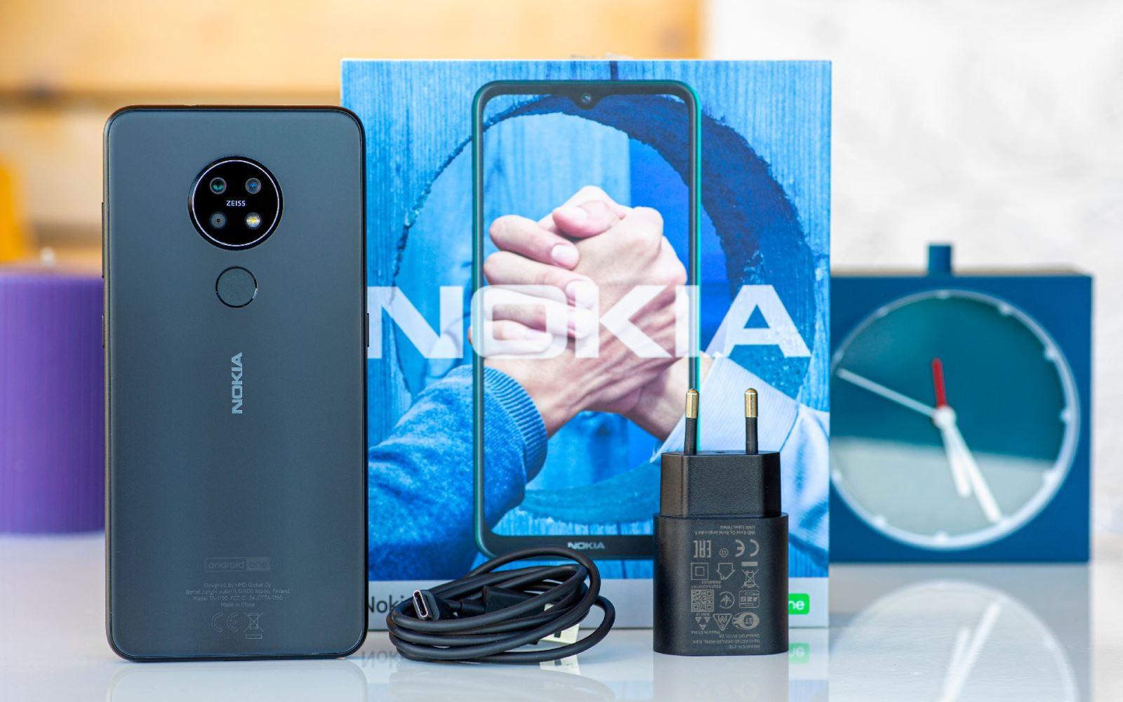 Chi tiết về thiết kế Nokia 7.2