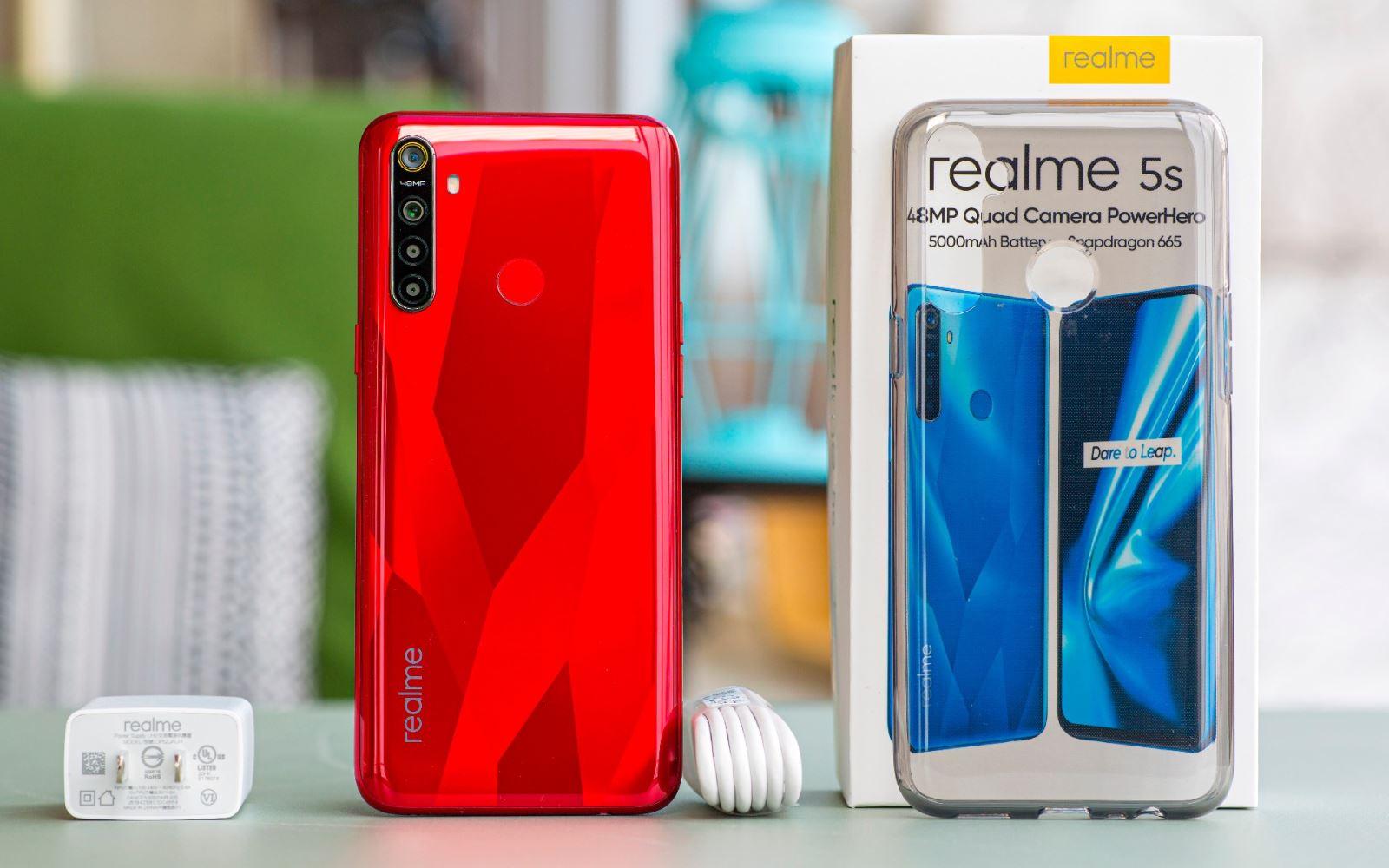 OPPO Realme 5s: Kẻ hủy diệt phân khúc giá rẻ