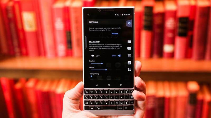 Dữ liệu luôn an toàn với BlackBerry KEY2