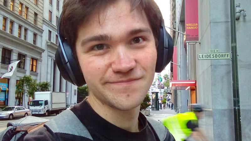 Ảnh selfie trên BlackBerry KEY2