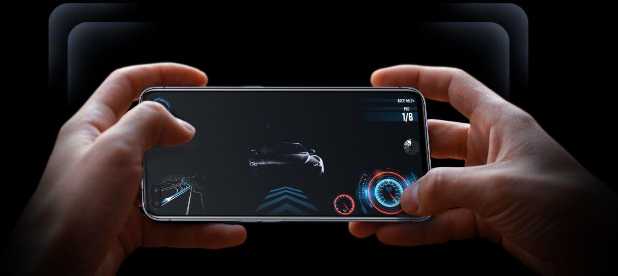 Điện thoại Realme X50 Pro Player Version màn hình rộng, điều khiển chơi game dễ dàng hơn