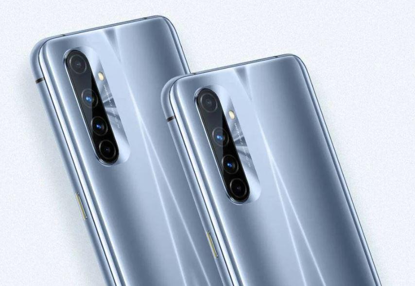 Điện thoại Realme X50 Pro Player Version cụm camera sau với 4 ống kính đáp ứng mọi nhu cầu chụp ảnh di động