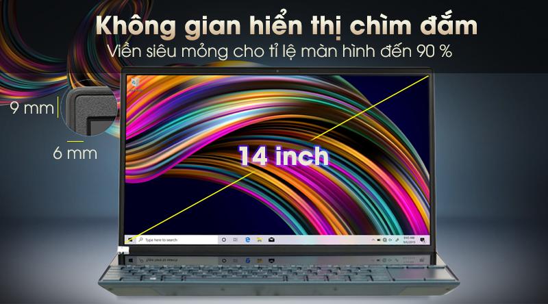 Laptop Asus ZenBook Duo UX481F màn hình góc rộng