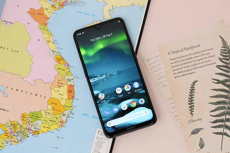 Điện thoại Nokia 5.3 sở hữu màn hình siêu lớn ấn tượng