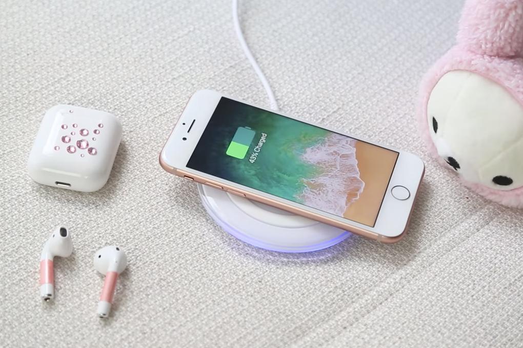 Nút home trên điện thoại iPhone 8