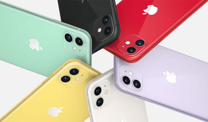 Điện thoại iPhone 11 256GB | Thiết kế nhiều màu sắc