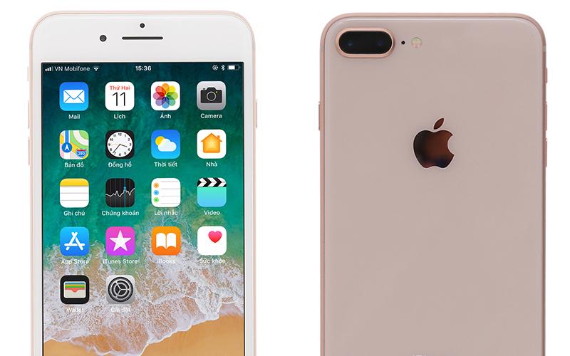 Mặt lưng được thiết kế hoàn toàn mới - iPhone 8 Plus 128GB
