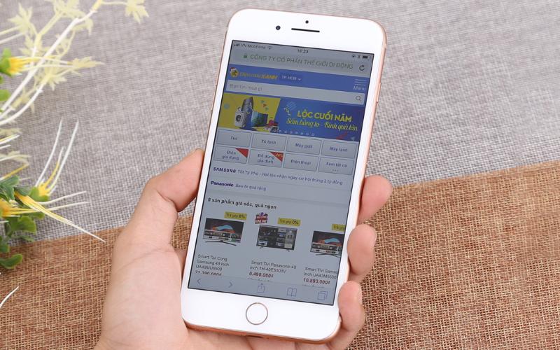 Màn hình 5.5 inch với công nghệ True Tone - iPhone 8 Plus 128GB