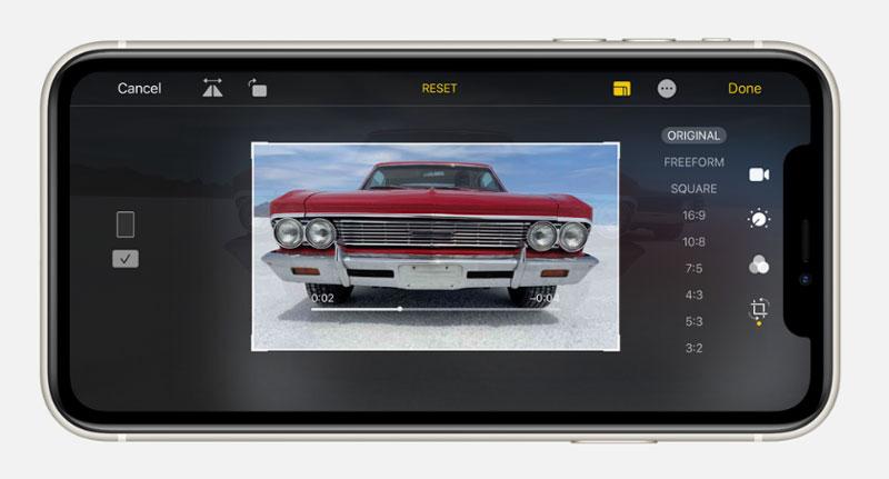 Điện thoại iPhone 11 256GB | Giao diện chụp ảnh