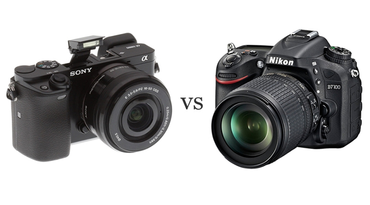 Máy ảnh Mirrorless và máy ảnh DSLR