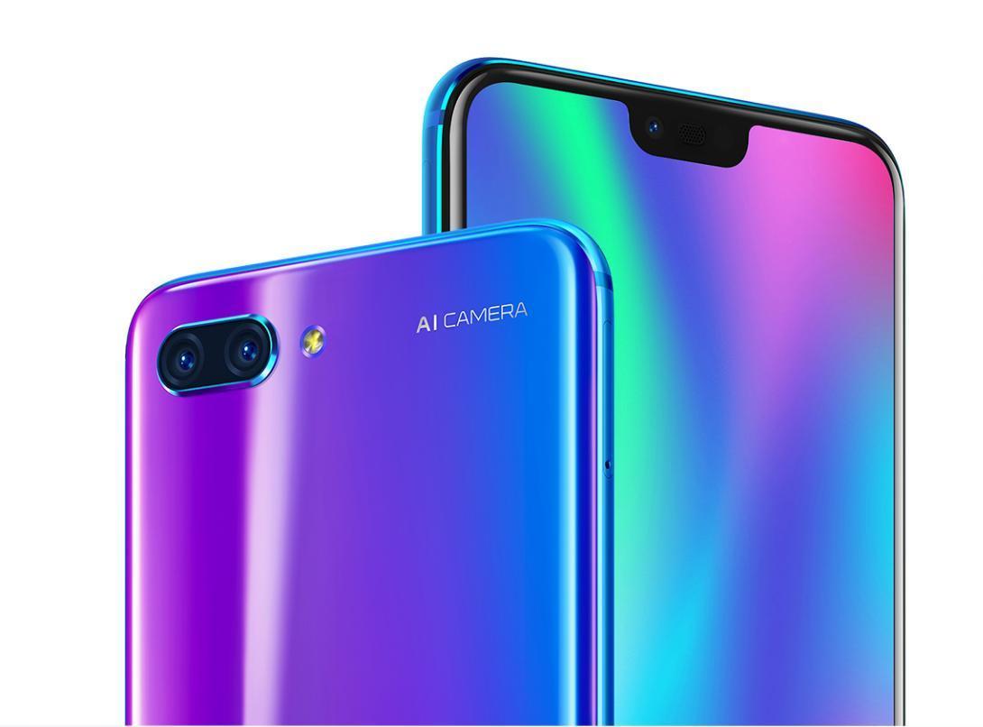 Huawei ra mắt Honor 10: Điện thoại tai thỏ 7 sắc cầu vồng