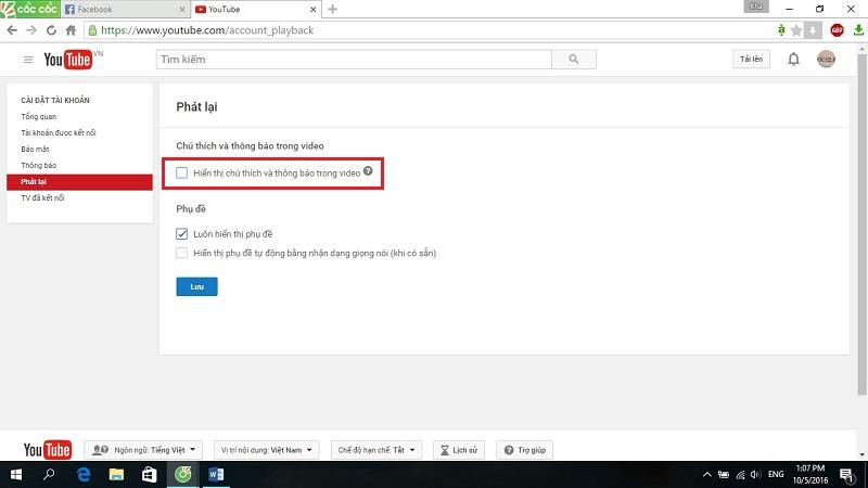 Hướng dẫn tắt quảng cáo trên Youtube