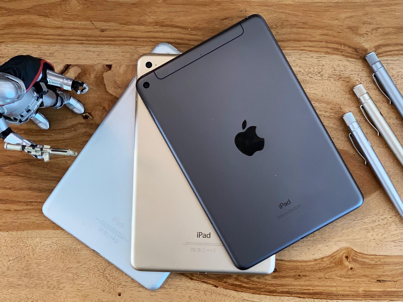 3 Loại màu sắc nổi bật iPad mini 5