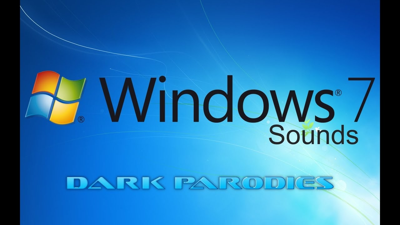 All Windows 7 Sounds - YouTube