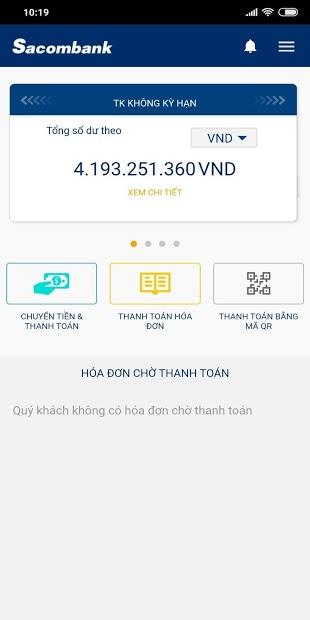 Ứng dụng Sacombank mBanking: Dành cho chủ thẻ Sacombank | Link tải free, cách sử dụng