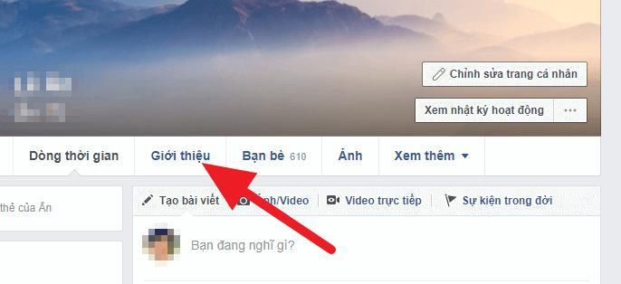 cách ẩn ngày sinh trên facebook