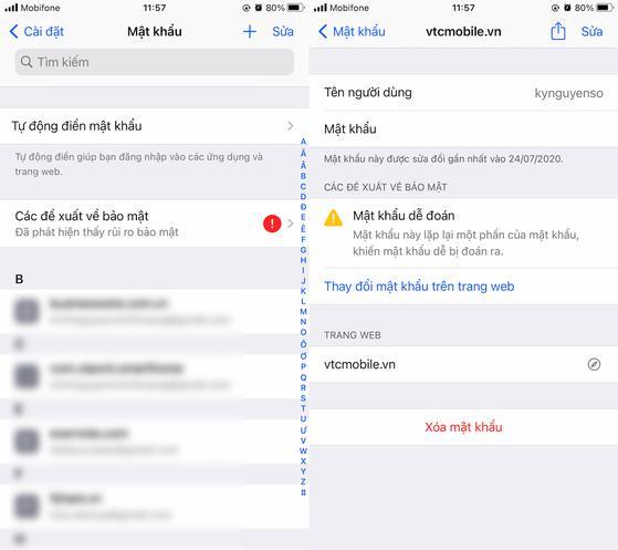 Cách xem lại mật khẩu Facebook trên iPhone - 2