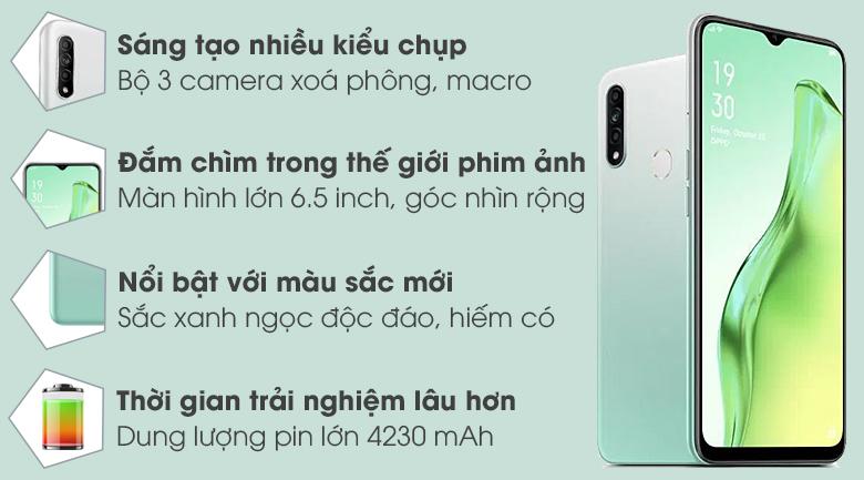 Điện thoại Oppo A31 4GB/128GB