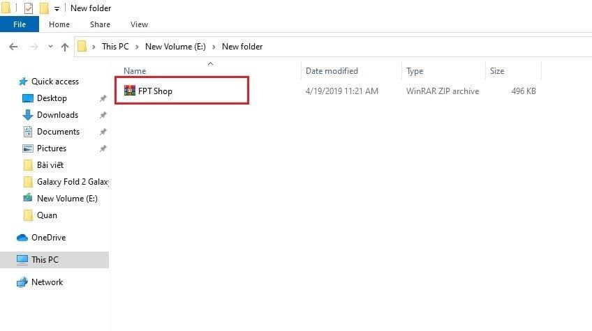Cách giải nén file rar trên Windows 10 đơn giản nhất 4