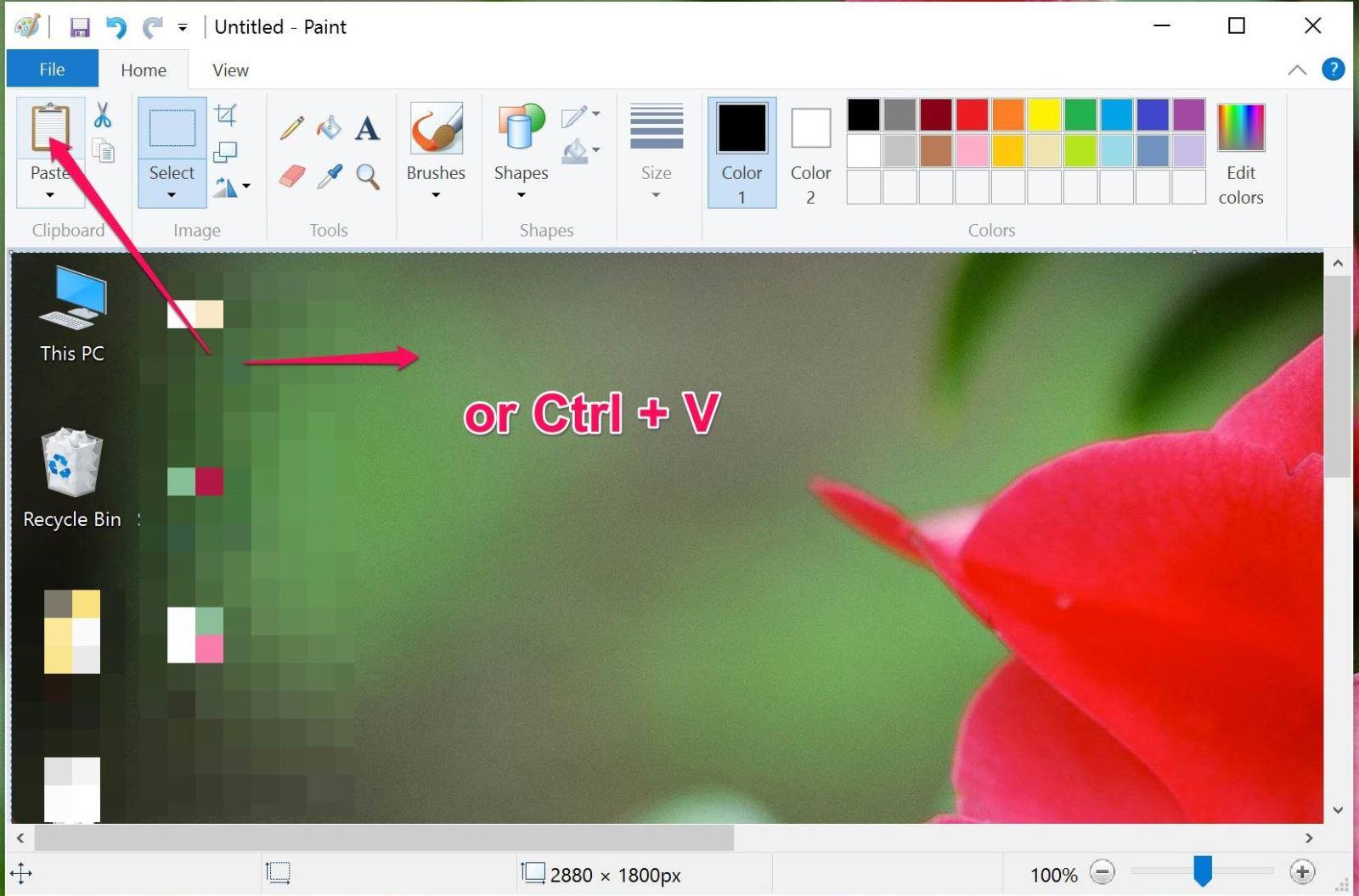 cách chụp màn hình máy tính bàn