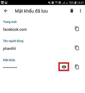 xem mat khau facebook cua tren dien thoai sieu de