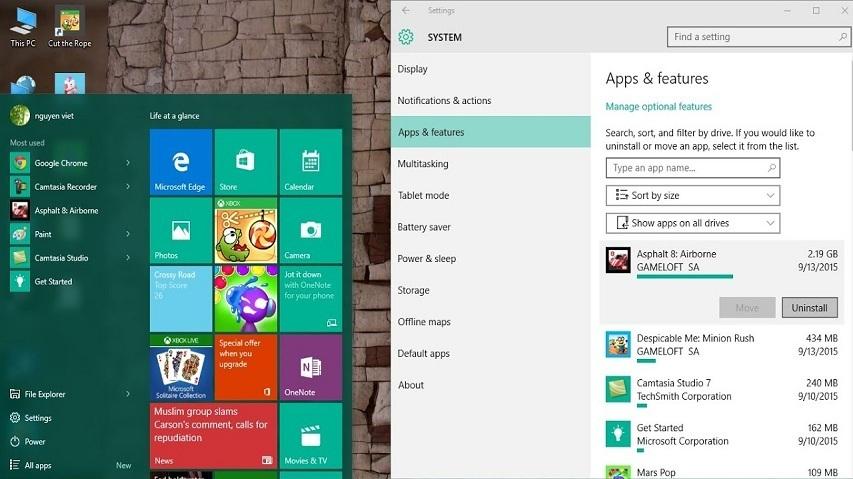 Cách xóa, gỡ bỏ phần mềm ứng dụng trên Windows 10 | Thủ Thuật Máy Tính, Windows  10