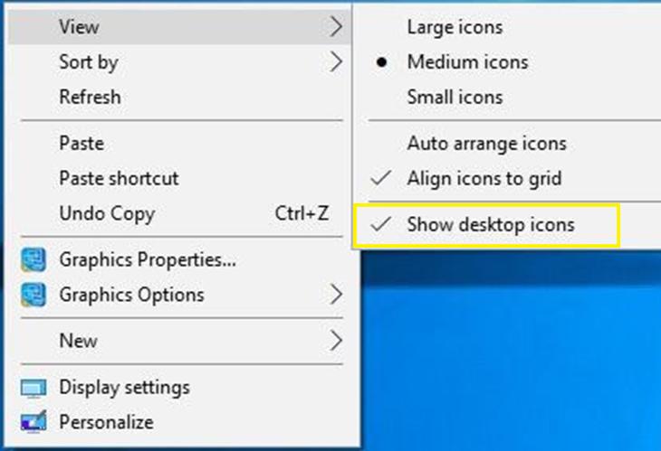 Mẹo làm đẹp, tối ưu hóa màn hình desktop trên Windows 10