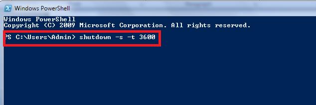 Cách hẹn giờ tắt máy tính win 10
