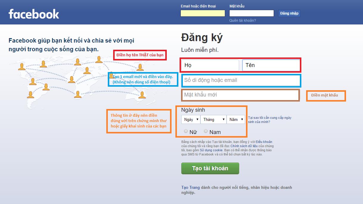 Bí kíp tạo tài khoản Facebook không bị xác minh danh tính