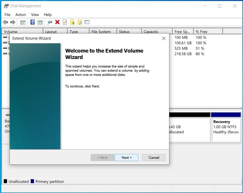 Cách gộp ổ đĩa trong Windows 10 07