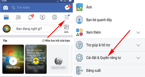 doi ten facebook 1 chu tren dien thoai iphone