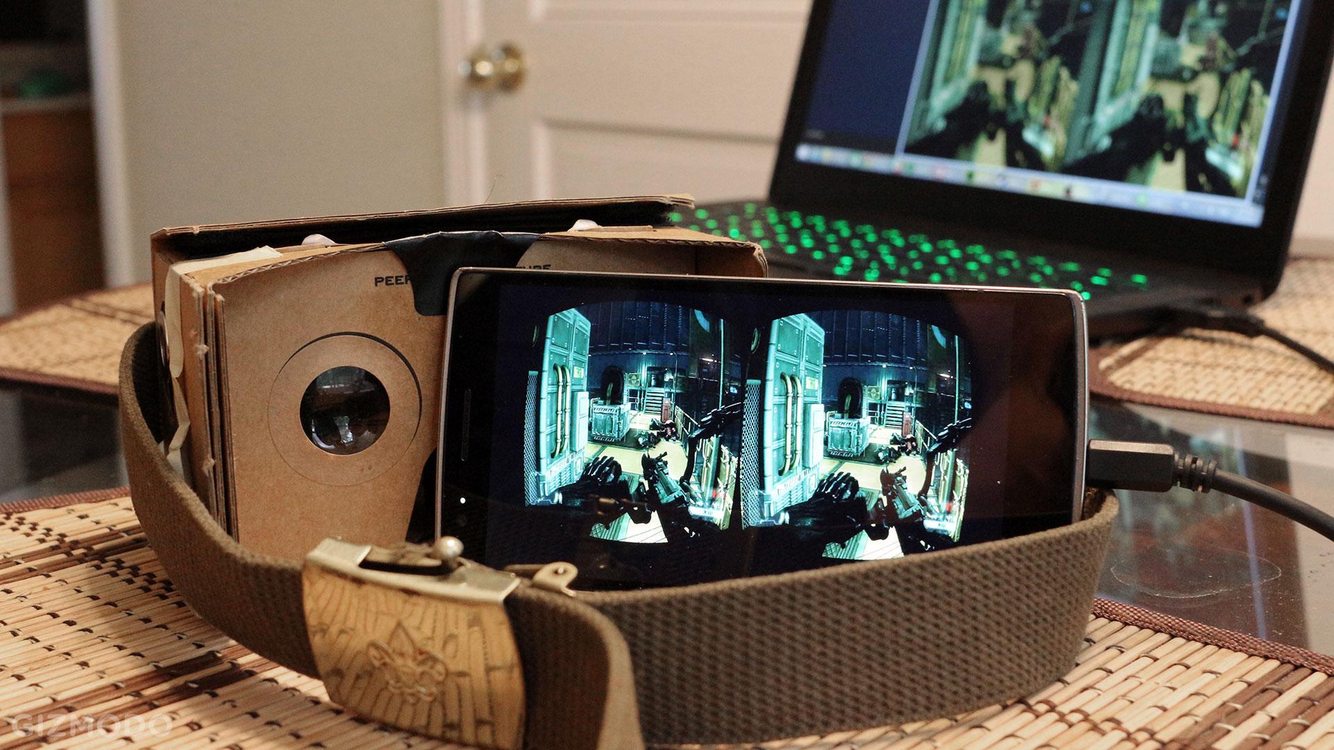 VR Streamer - Phần mềm chơi game thực tế ảo trên PC