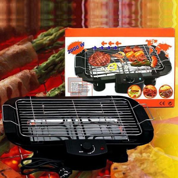 Bếp nướng không khói Electric barbecue grill 2000w - Bán buôn siêu rẻ