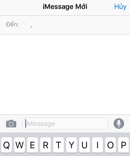 Bắt đầu nhắn tin iMessage nào