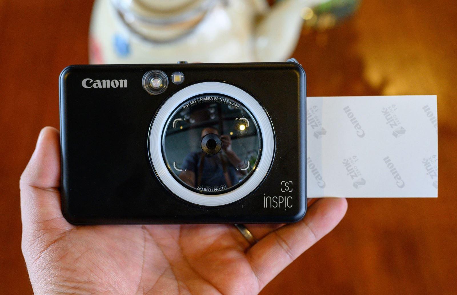 Đánh giá máy ảnh chụp lấy liền Canon ZV123: gọn nhẹ, thời trang, kết nối  được với smartphone để in thêm ảnh