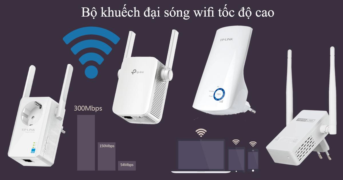 khuếch đại sóng Wifi tốt