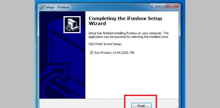Kết nối bằng iFunbox