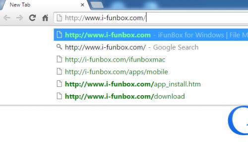 vào địa chỉ website như hình và tải iFunbox bản mới nhất