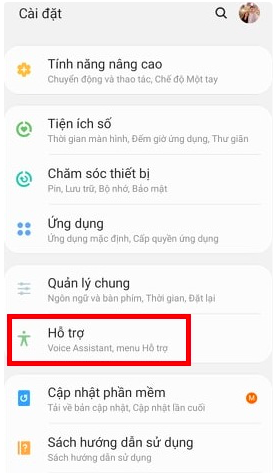 Cách chụp màn hình Samsung A10 với 3 bước đơn giản