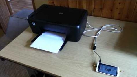 USB OTG priner