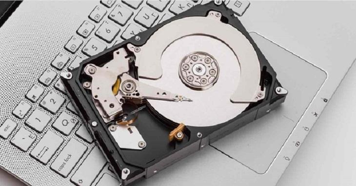 Lỗi 3. Lỗi do ổ cứng (HDD)