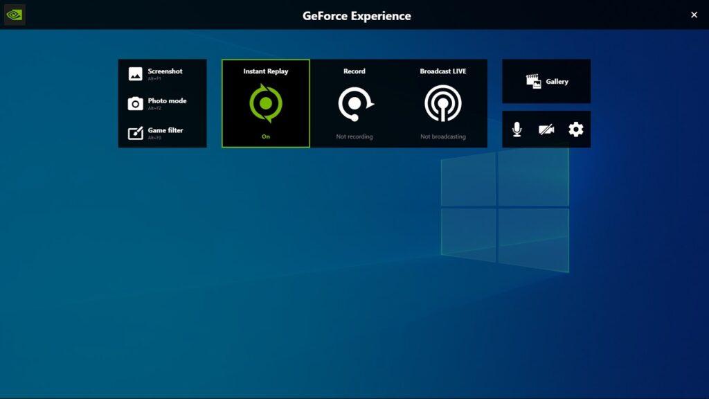 những ứng dụng chạy ngầm nvidia
